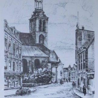 H. van Duyl - De Markt in Roosendaal, zonder lijst