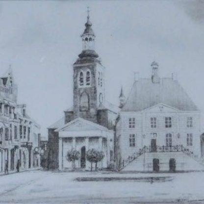 Markt Roosendaal A Wieringa, zonder lijst thumb