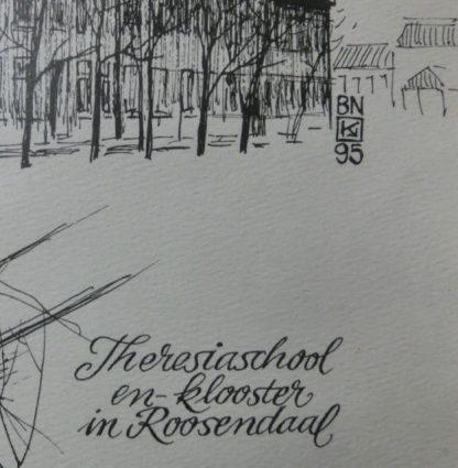 Theresiaschool J Katzmann, detail monogram